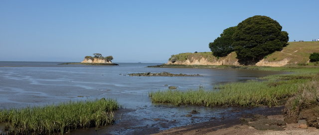 Photo of Rat Rock island east of China Camp, San Rafael