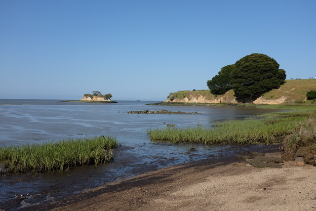 Photo of Rat Rock island east of China Camp, San Rafael